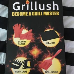 Other - Grillush grill master set of 4 bbq grill utensils